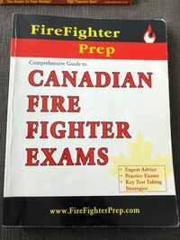 Firefighter Exam Prep Book Hamilton, L9A 4S6