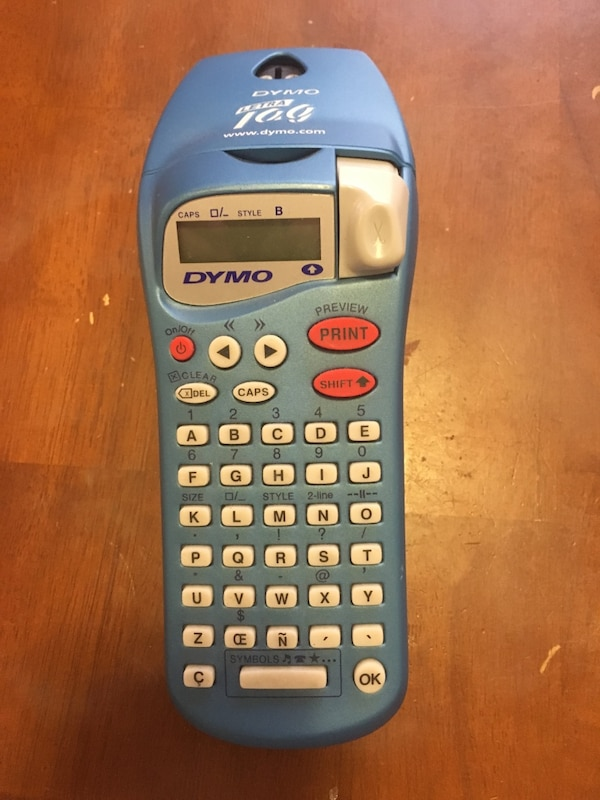Used gray Dymo printing calculator for sale in Downey - letgo