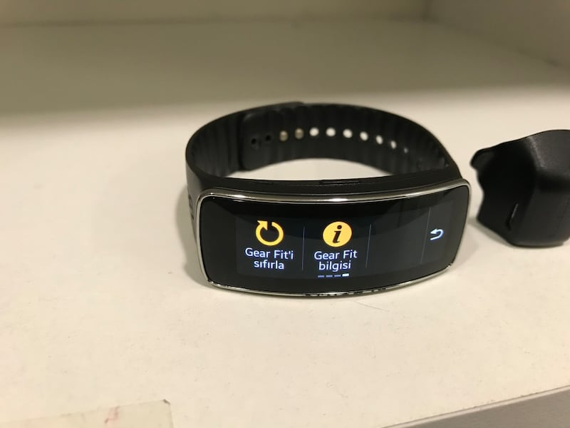 SAMSUNG GEAR FİT SM R350 8