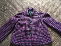 purple and black houndstooth coat Kitchener, N2E 3J8