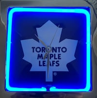 Toronto Maple Leaf Clock