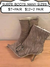 Brand new suede boots many sizes available  Virginia Beach, 23452