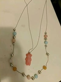 Japan double tiered necklace. Toronto, M5G 0A6
