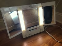 two white wooden framed glass doors Springfield