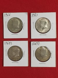Kennedy Half Dollar Lot 004  Washington