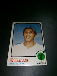 1973 TOPPS BILLY WILLIAMS BASEBALL CARD GD COND. Upper Darby, 19026