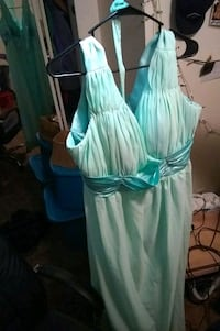 Turquoise Bridesmaid Gown Springfield, 97477