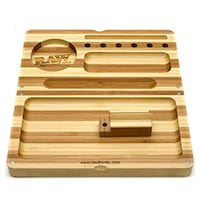 RAW STRIPED BAMBOO BACKFLIP ROLLING TRAY Toronto, M1B 1J9