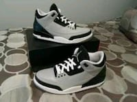 Custom wolf Grey 3s Brampton