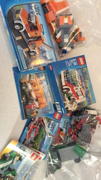 Assorted lego city lot 766 km