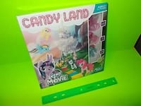 ~NEW ~ My Little Pony includes three characters Candyland board game La Vista, 68128