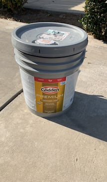 Yellow exterior paint new
