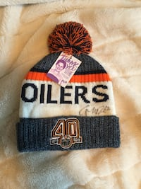 AUTHENTIC CONNER MCDAVID HAT Edmonton, T6T