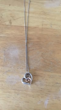 Intertwined Hearts Necklace 110 mi