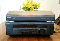 Sony stereo receiver and turntable Watertown, 02472