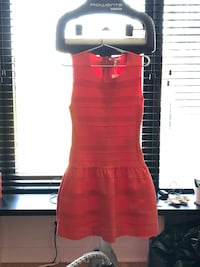 Maje Cocktail Dress in Coral Red Size 1 (US Size Small) Harrison, 07029