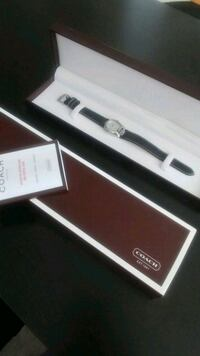 Authentic Coach watch.New. with new battery. Toronto, M6B 1K1