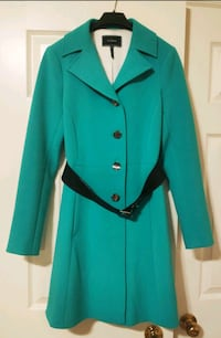 Le Chateau Women Blue Turquoise Trench (XS Toronto, M5G 1K2
