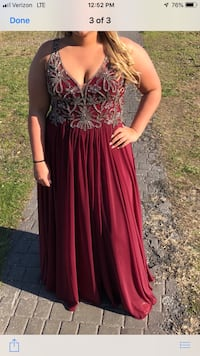 Prom dress size 16 excellent condition  Newark, 19711