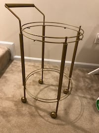 Gold bar cart Springfield, 22151