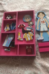Dress Up Magnetic Doll
