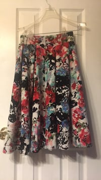 Women's multicolored floral skirt 34 mi