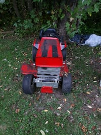 ride on lawnmower  6.5 hp