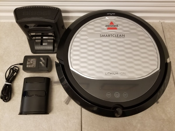 Photo NEWEST MODEL Bissell SmartClean Robotic Vacuum Like NEW