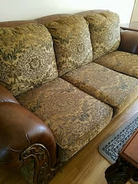 Couch love seat and chair with ottoman  404 mi