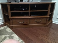 brown wooden 3-drawer chest Manchester, 08759