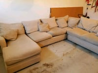 LARGE Sectional couch w/chaise U HAUL