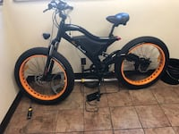 Black and red bmx bike 219 mi