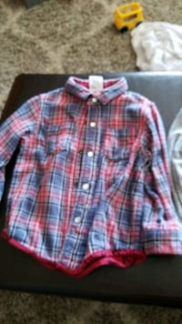 red, blue, and white plaid sport shirt Fountain Valley, 92708