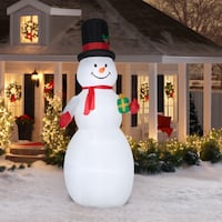 10 Foot Snowman Giant Inflatable Blow Up Christmas Holiday Yard Decoration New Orleans
