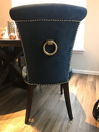(Ashley furniture) Royal Navy blue Dining chairs Germantown, 20876