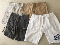 4 men's shorts, 33w - Hollister, union Bay, Urban Up Woodbridge, 22191