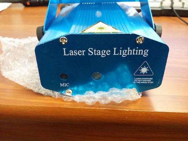 used mini stage light laser projector party laser for sale in city of industry letgo. Black Bedroom Furniture Sets. Home Design Ideas