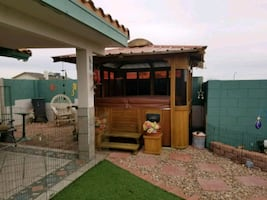 Spa and Gazebo