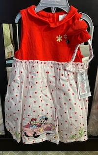 Minnie/Daisy Dress w/Headband (Sz 18-24 months)