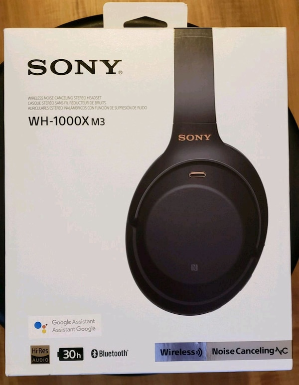 SONY WH-1000Xm3   Firm Price Retail price $349.99 428b8623-d4fe-4058-a67a-8163ff0bec9d