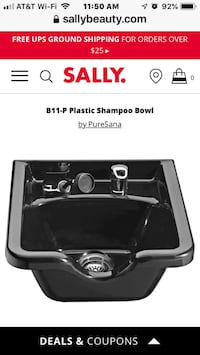 salon     Brand new shampoo chair and  sink being sold as a pair Walkersville, 21793