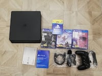 PS4 with consoles