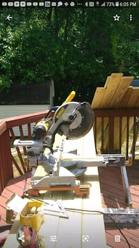 Dewalt compound miter/bevel/slidel saw w/stand.. Annapolis, 21401