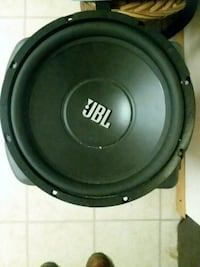 black and gray JBL subwoofer Clinton, 20735