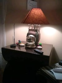 brown and white table lamp 1942 mi