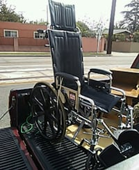 black and chrome wheelchair La Habra Heights