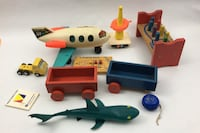 Toys assorted vintage Toys Triangle, 22172