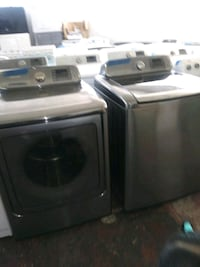 Top load washer and dryer set new scratch and dent Baltimore, 21223