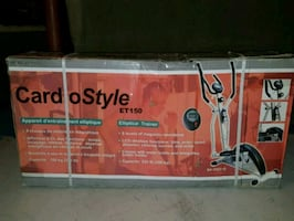 Elliptical Trainer - Cardio Style (Brand New)