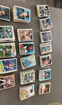 TOPPS assorted baseball cards 1976-1986  Bethpage, 11714